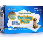 Disposable dog pads for incontinent dogs