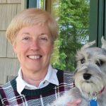 Linda and Skipper on Weimaraner Puppies